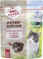 Dein Bestes Snack für Katzen, Hofladen, Puten-Stücke