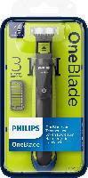 Philips OneBlade Rasierer mit Trimmeraufsätzen