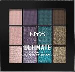 NYX PROFESSIONAL MAKEUP Lidschatten Ultimate Shadow Palette Multi-Finish - Smoke Screen 07