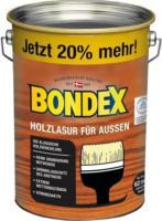 Bondex Holzlasur für Außen Eiche 4,8 L