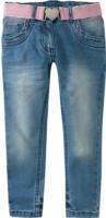 Mädchen Jeans mit Glitzergürtel
