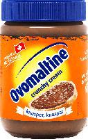 Brotaufstrich crunchy cream mit Ovomaltine & Haselnüsse