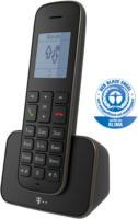 Telekom Sinus 207 Schnurlostelefon Schwarz Grafik-Display Strahlungsarm NEU OVP