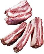 Frisches Suppenfleisch mit Knochen, vom Rind, je 1 kg
