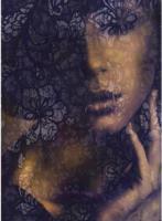 Komar Vlies-Fototapete Lace, 2-teilig, 184x248 cm