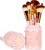 BH Cosmetics Pinselset Pink Perfection - 10 Piece Brush Set