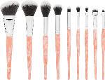 BH Cosmetics Pinselset Rose Quartz - 9 Piece Brush Set