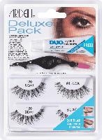ARDELL Künstliche Wimpern Deluxe Pack Lash 120 Black