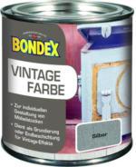Bondex Vintage Farbe Silber 375 ml