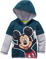 Mickey Mouse Langarmshirt im Layer-Look