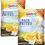 Agrarfrost Backfrites 750 g + 20% gratis = 900 g oder Knusper Frites 750 g + 20%  gratis = 900 g gefroren, jeder Beutel und weitere Sorten