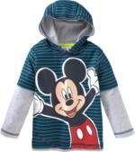 Mickey Mouse Langarmshirt im Lagen-Look