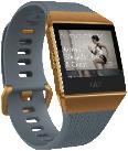 Smartwatches - FITBIT  Ionic Fitness-Smartwatch Aluminium Elastomer, S/L, Slate Blue/Burnt Orange