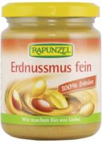 Rapunzel Erdnussmus fein 250g