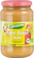 Dennree Apfel-Birnenmark 360g Glas