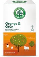 """Tee """"Orange & Grün"""""""