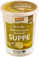 "Frische Suppe ""Kartoffel-Mango-Suppe"""