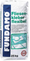 Fundamo Fliesenkleber flexibel, 25 Kg