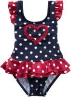 Baby Badeanzug mit gerüschtem Herz