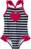 Mädchen Badeanzug mit Herz-Motiv