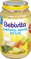 Bebivita Menü Kartoffel-Gemüse mit Pute ab 8. Monat