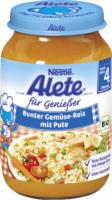 Alete Bunter Gemüse-Reis mit Pute nach dem 4. Monat
