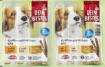 Dein Bestes Snack für Hunde, Knabberwürstchen Mix mit 90% Fleisch