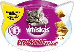 Whiskas Snack für Katzen, Knuspertaschen Vitamin E-xtra