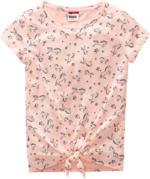 Mädchen T-Shirt mit Pferde-Alloverprint