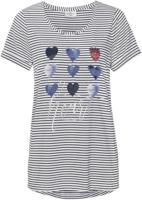 Damen T-Shirt mit Herzchen-Motiv