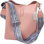 Damen Tasche mit breitem gemusterten Riemen
