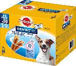 Pedigree Snack für Hunde, Zahnpflege DentaStix, für kleine Hunde, Multipack 8x7 Stück