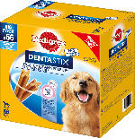Pedigree Snack für Hunde, Zahnpflege DentaStix für große Hunde, Multipack 8x7 Stück