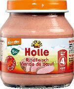 Holle baby food Rindfleisch Zubereitung nach dem 4. Monat