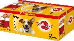 Pedigree Nassfutter für Hunde, Adult Auswahl in Gelee, Multipack, 40x100g