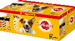 Pedigree Nassfutter für Hunde, Adult Auswahl in Sauce, Multipack, 40x100g