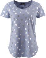 Damen T-Shirt mit Herzchen-Print