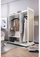 Garderobenwagen Dressbox alpinweiss