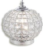 ROLLER Tischlampe, Standlampe Bolly - chrom - Kristalle