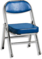 ROLLER Kinderstuhl, Kinderklappstuhl RBT - blau