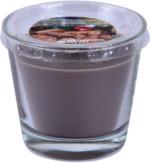 ROLLER Duft-Kerze im Glas - gebrannte Mandel - Ø 9 cm