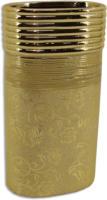 ROLLER Vase - champagner - 25 cm hoch