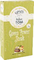 Nature Tom Fertiggericht Burger green power steak, vegetarische Hacksteaks auf Basis von Weizen- & Sojaeiweiß