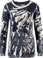 Damen Pullover mit Rollsaum
