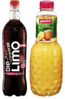 Granini Trinkgenuss oder Die Limo versch. Sorten,  jede 1-Liter-PET-Flasche