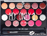 essence cosmetics Lippenstift my only 1 lipstick palette multi 01