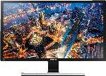 PC Monitore ab 26 Zoll - SAMSUNG U28E590D LED 28 Zoll UHD 4K Monitor (2x HDMI, 1x DisplayPort, 3.5 mm Klinkensteckereingang Kanäle, 1 ms Reaktionszeit)