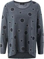 Damen Pullover mit Punkten und Glitzerdetails