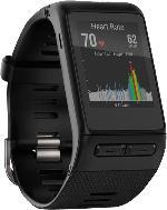 Fitnesstracker - GARMIN Vivoactive HR Regular, Sport-GPS-Smartwatch mit Herzfrequenzmessung am Handgelenk, 137 - 195 mm, Schwarz