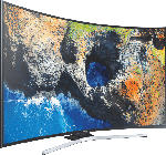LED- & LCD-Fernseher - SAMSUNG UE55MU6279U LED TV (Curved, 55 Zoll, UHD 4K, SMART TV)